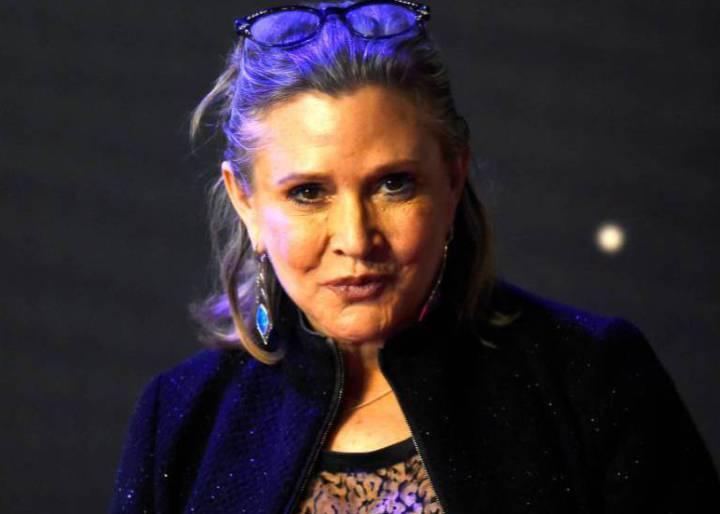 La actriz Carrie Fisher murió por una apnea del sueño