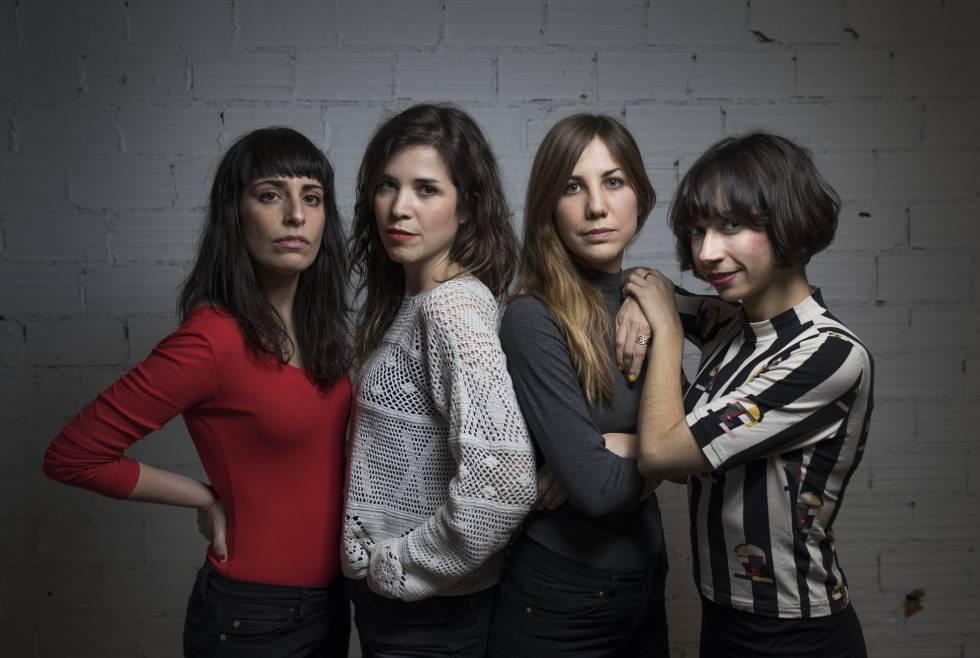 El grupo Las Odio, en Madrid.