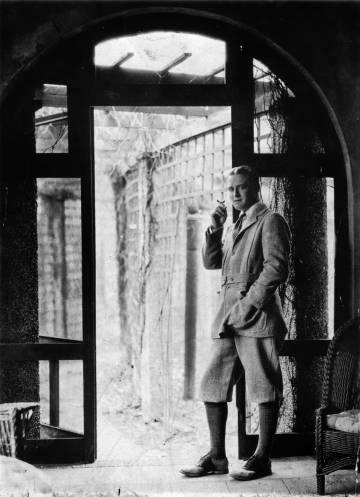 El escritor F. Scott Fitzgerald en la década de 1920.