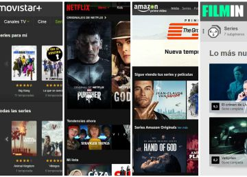 Netflix, HBO, Amazon, Rakuten TV, Filmin o Movistar+: ¿cuál es mejor?