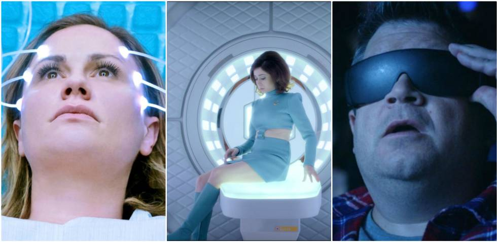 'Electric Dreams', 'Black Mirror' y 'Dimensión 404'.