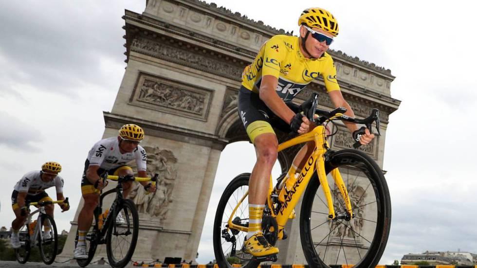 Movistar cede 49 segundos frente a Sky — Tour de Francia