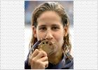 La española Erika Villaécija, medalla de oro en los 800 libres