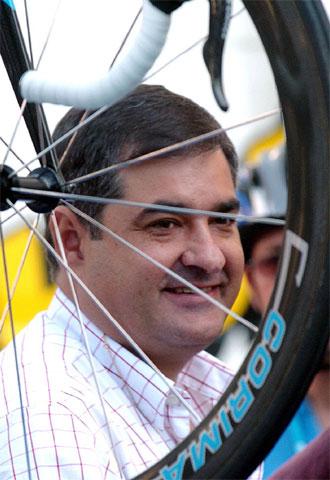 En la imagen, Manolo Saiz en una foto de archivo.