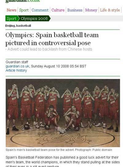 Imagen del artículo publicado por The Guardian