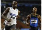 Bolt frustra a Powell, otra vez