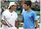 Ferrero sobrevive, Djokovic avanza