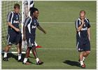 Sneijder y Van der Vaart no estarán en el Santiago Bernabéu