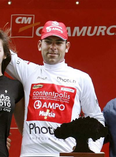 Imágen de archivo del ciclista Pedro José Vera.