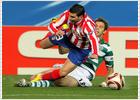 El Atlético se pierde sin Tiago