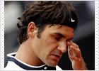 Federer cae en Roma