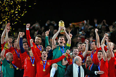 FOTOGALERIA: España recibe la Copa
