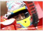 Alonso, en seco y en mojado
