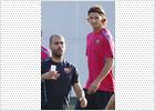 Ibrahimovic vuelve a entrenarse con el grupo