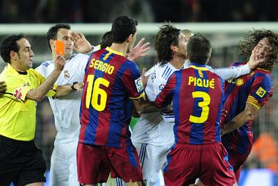 FOTOGALERIA: Sergio Ramos se desquicia