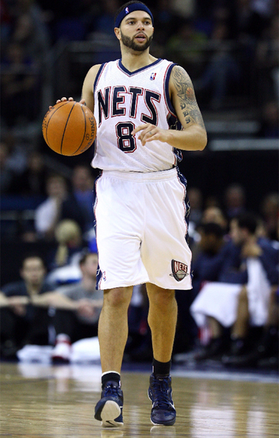 Deron Williams, durante un partido con los Nets.