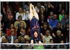 La dama de la gimnasia británica resiste entre las mejores