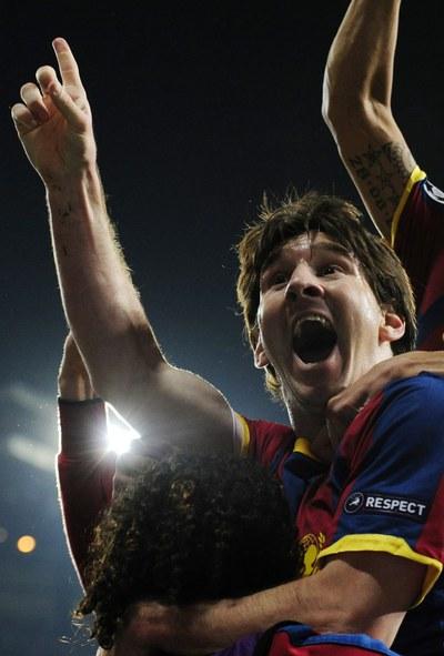 FOTOGALERIA: Messi, feliz