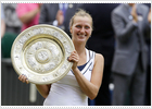Kvitova, nueva reina de Wimbledon
