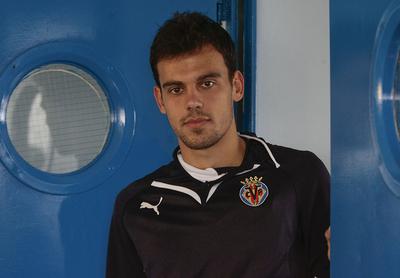 Javier Matilla, en su etapa en el Villarreal.