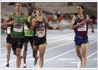 Kevin López y Manuel Olmedo brillan en los 800;  tropiezo de Dayron Robles
