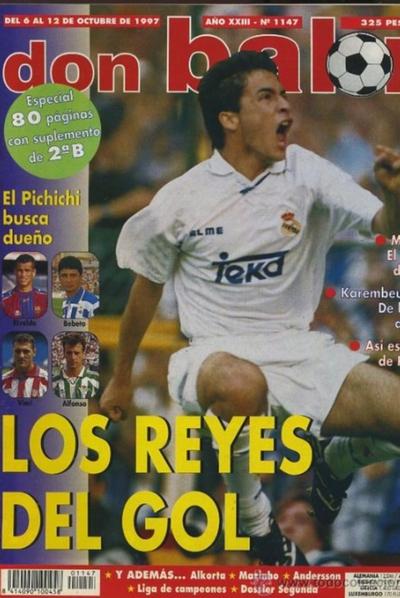 Una portada de la revista 'Don Balón' de 1997.