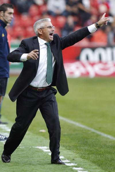 Fabri durante un partido del Granada.