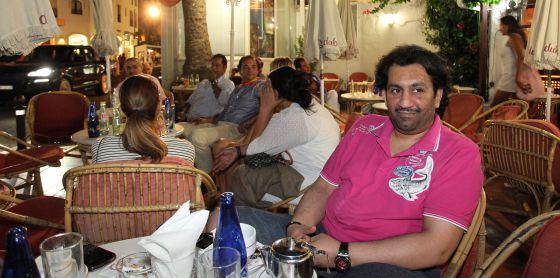El jeque de Qatar, Abdullah Bin Nasser Al-Thani, propietario del Málaga