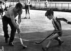 Joaquín Dualde, la época heroica del hockey hierba