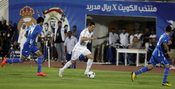 Cristiano Ronaldo, en una acción del partido.