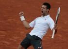 Djokovic y Federer: remontadas de campeones en París