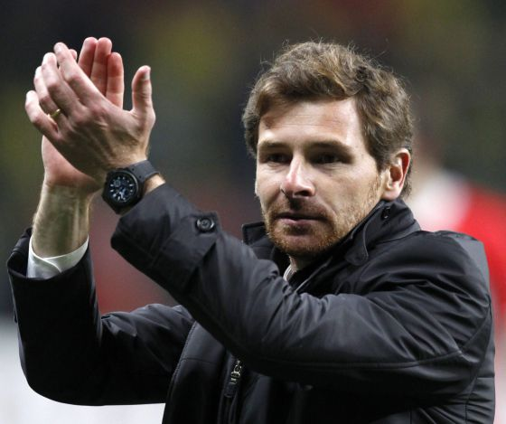 André Villas-Boas, técnico del Tottenham.
