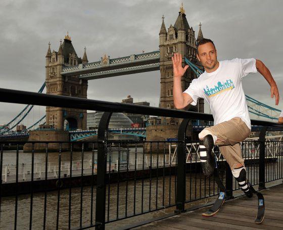 Pistorius, en una imagen tomada en Londres en septiembre de 2011