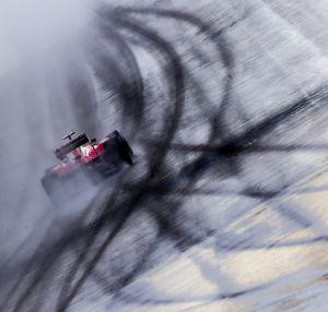 Alonso, rodando en Hockenheim
