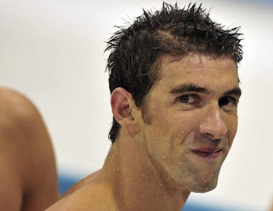 Michael Phelps, tras su última victoria