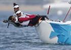 El Chiquita' s team navega a por la medalla en la clase 'Match-Race'