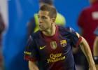 Jordi Alba debuta con el Barça