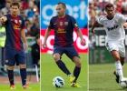 Messi, Iniesta y Cristiano, finalistas del premio UEFA