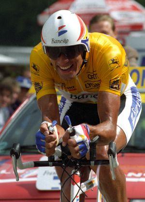 Indurain corre el Tour del 95