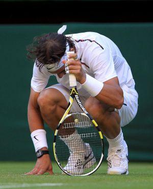 Nadal, en Wimbledon.