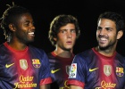 Fiesta azulgrana en el Camp Nou