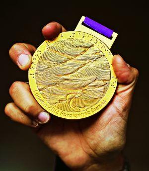 La medalla de oro de Londres.