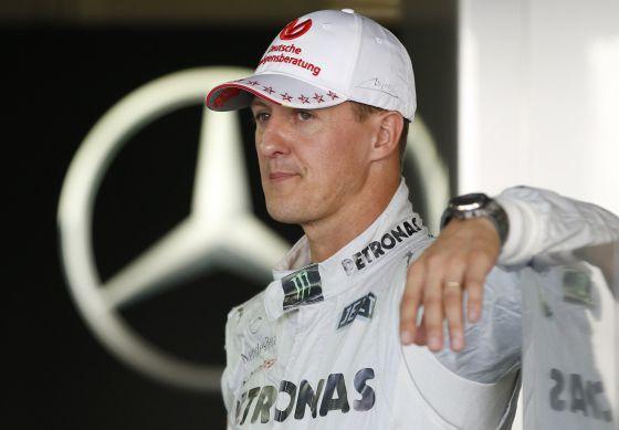 Schumacher, hoy en el circuito Suzuka.