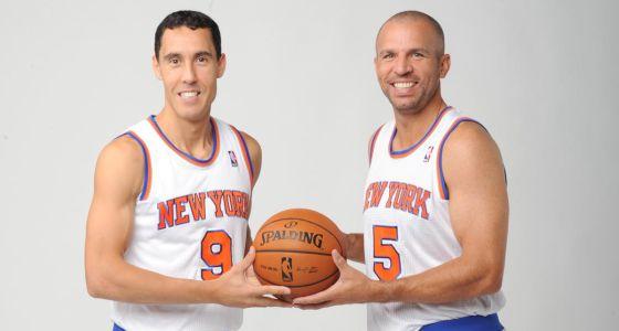 Pablo Prigioni, de 35 años, y Jason Kidd, de 39.