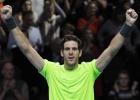 Federer-Del Potro, en imágenes
