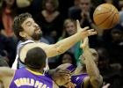 Marc Gasol y los Grizzlies dejan en evidencia los Lakers