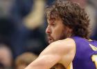 Pau Gasol y los Lakers sueltan lastre