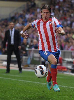Filipe Luis, en un partido de Liga