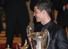Cristiano Ronaldo recibe el Premio Nacional del Deporte