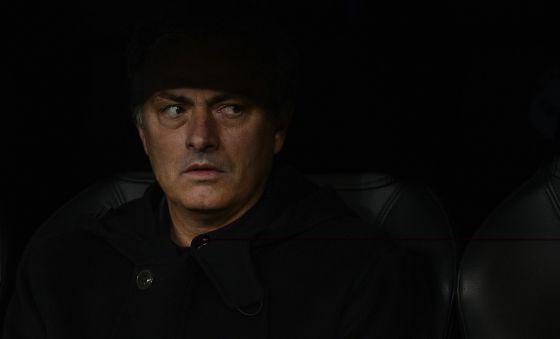 Mourinho, técnico del Madrid.